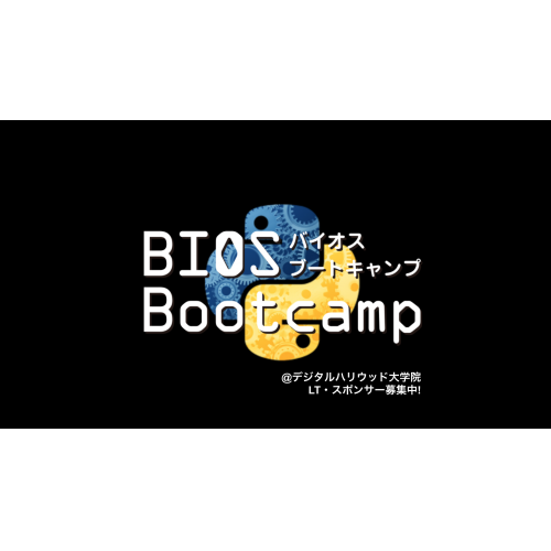 BIOS Bootcamp