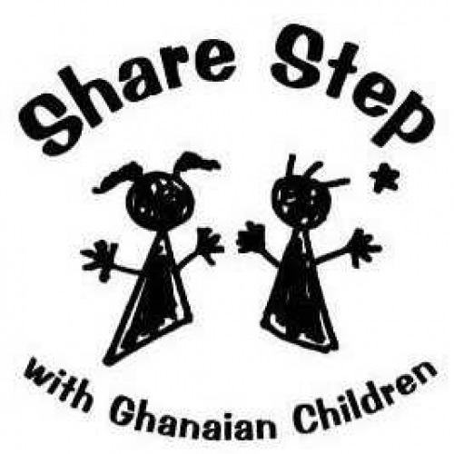 ガーナの子どもとShareStep
